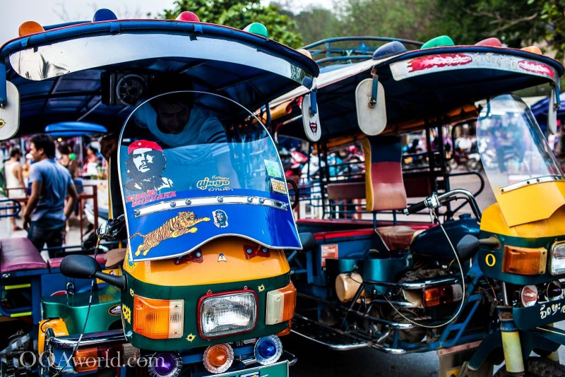 Tuk Tuk Laos Photo Ooaworld