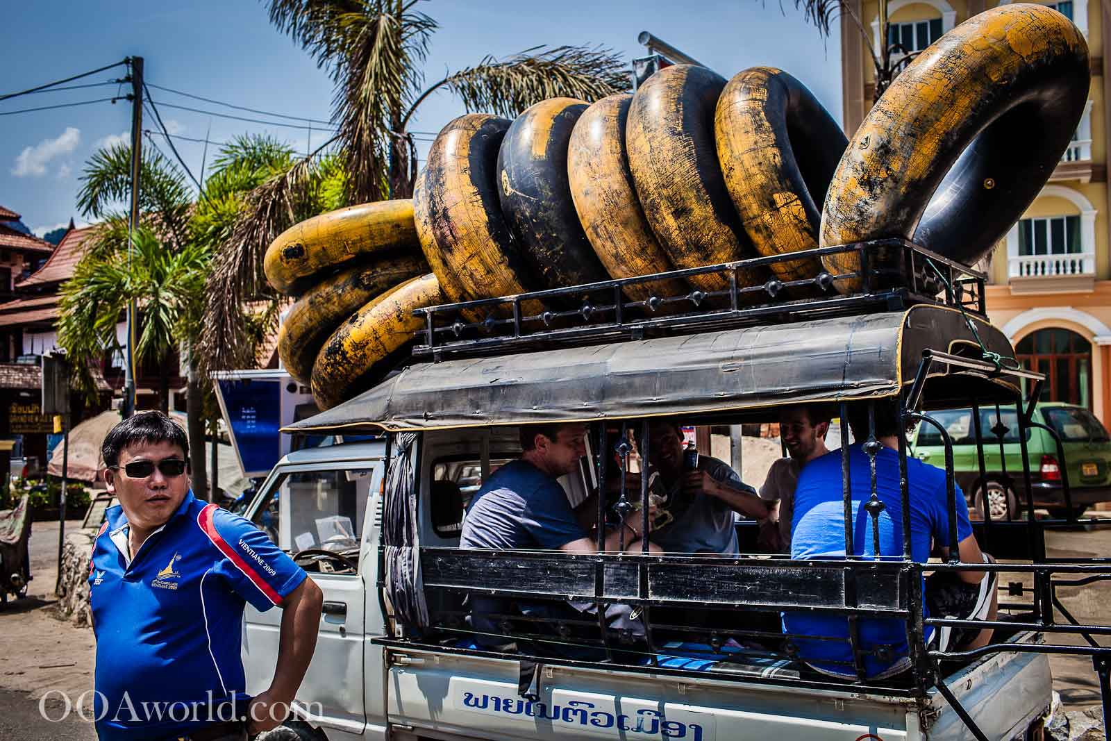 Vang Vieng Tubing Laos Photo Ooaworld