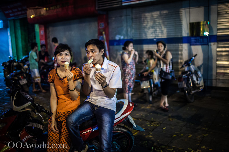 Hanoi Ice Cream Love Photo Ooaworld
