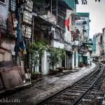 Hanoi Vietnam City Train Photo Ooaworld