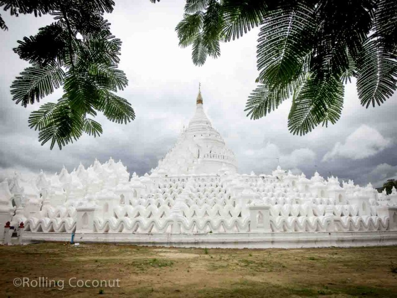 Hsinbyume Paya Mingun Myanmar Photo Ooaworld