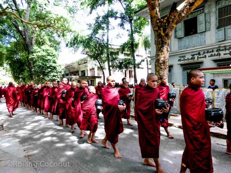 Maha Aung Mye Bon Zan Monastery Mandalay Myanmar Photo Ooaworld