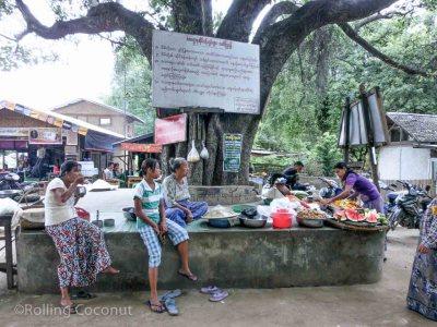 Market Mingun Myanmar Photo Ooaworld