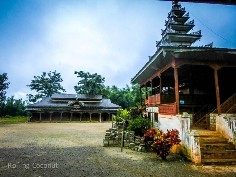 Kalaw Inle Lake Trek Myanmar Empty Monastery Photo Ooaworld