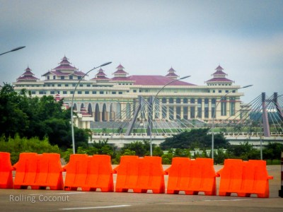 Parliament Building Naypyidaw Myanmar ooaworld Rolling Coconut Photo Ooaworld