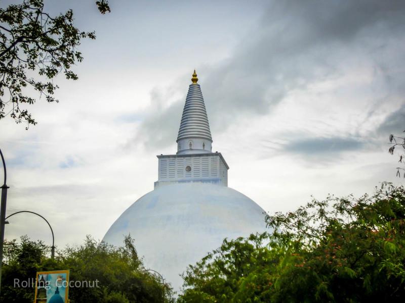 Anuradhapura Sri Lanka Itinerary Ruins ooaworld Rolling Coconut Photo Ooaworld