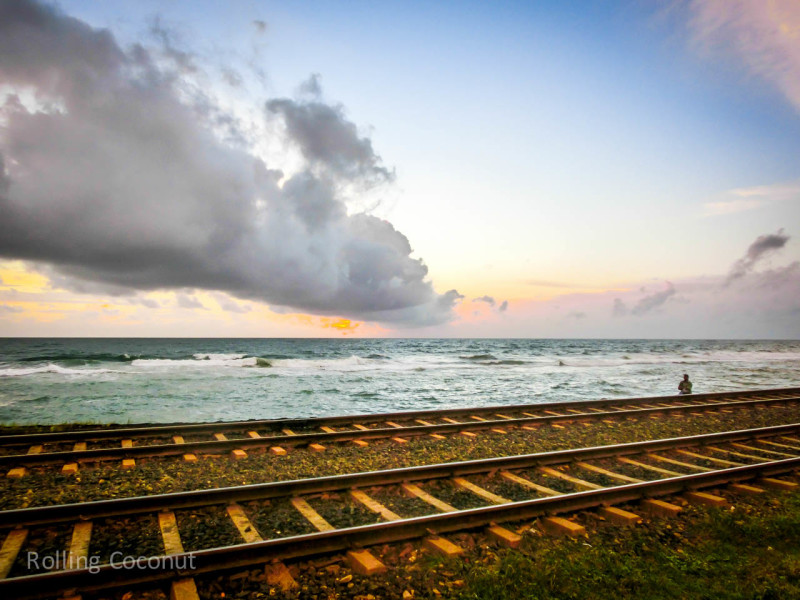 Colombo Sri Lanka Itinerary Waterfront Rails ooaworld Rolling Coconut Photo Ooaworld