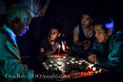 Hoi An Full Moon Festival Chess Players Vietnam Photo Ooaworld