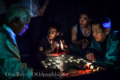 Hoi An Full Moon Festival Chess Players Vietnam Photo Ooaworld