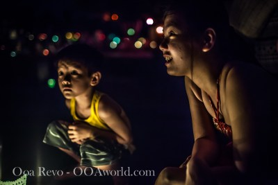 Hoi an Lantern Festival Portrait Little Brother Photo Ooaworld
