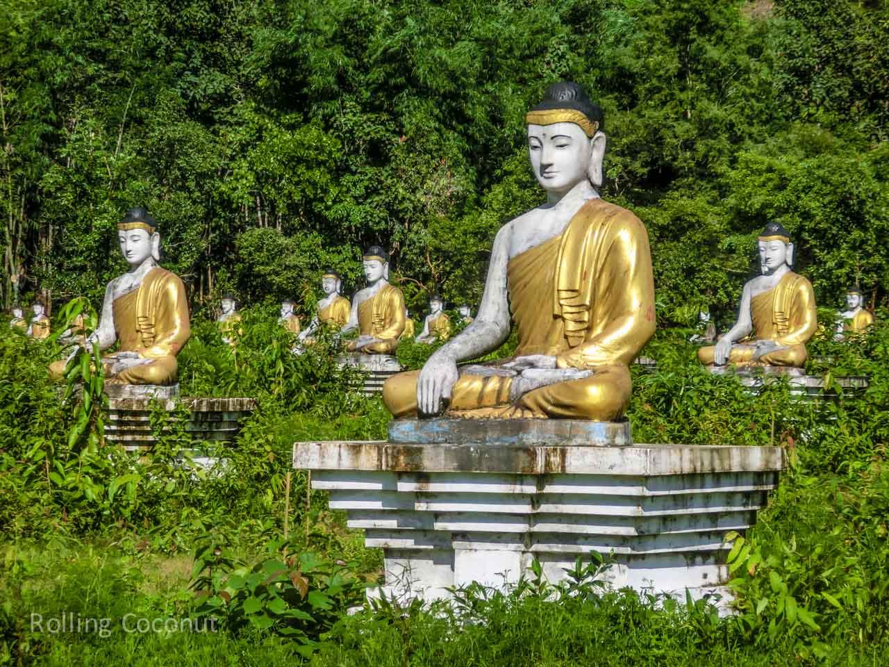 Hpaan Buddhas Travel Ooaworld Rolling Coconut Photo Ooaworld