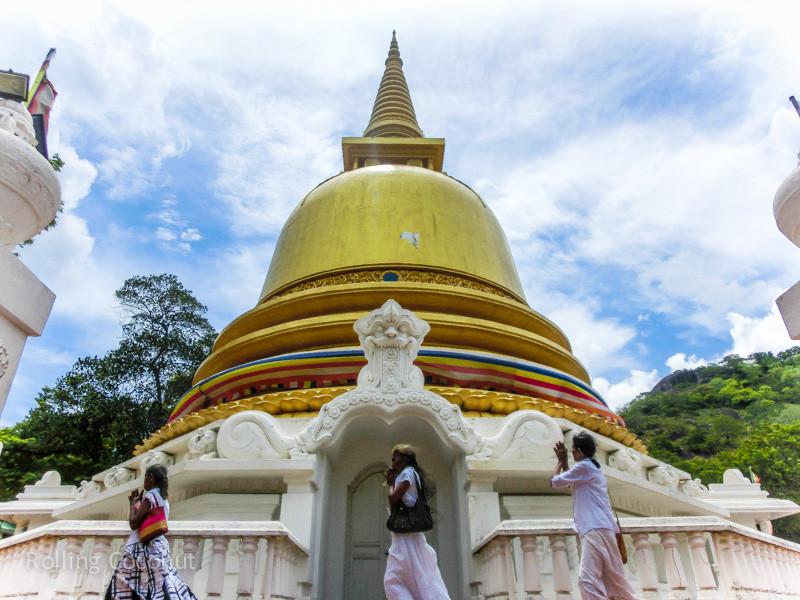 Golden Temple Caves Dambulla Sri Lanka ooaworld Rolling Coconut Photo Ooaworld