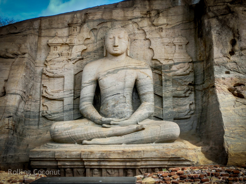 Polonnaruwa Sri Lanka Gil Vihara Photo Ooaworld