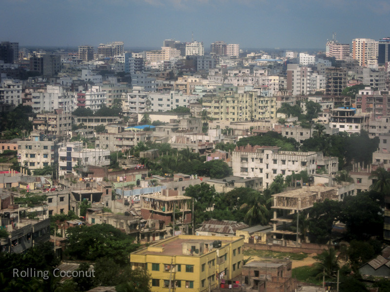 Bangladesh Dhaka Buildings Skyline ooaworld Rolling Coconut Photo Ooaworld