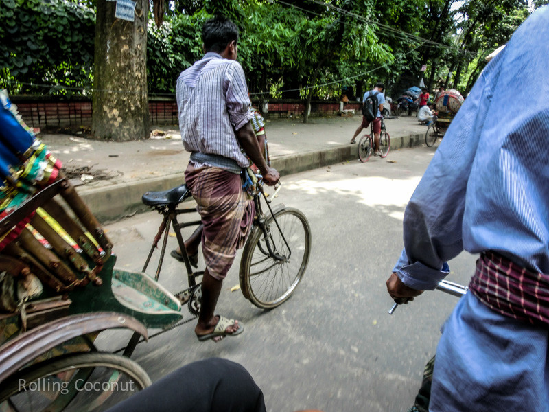 Bangladesh Dhaka Rickshaw Roads ooaworld Rolling Coconut Photo Ooaworld