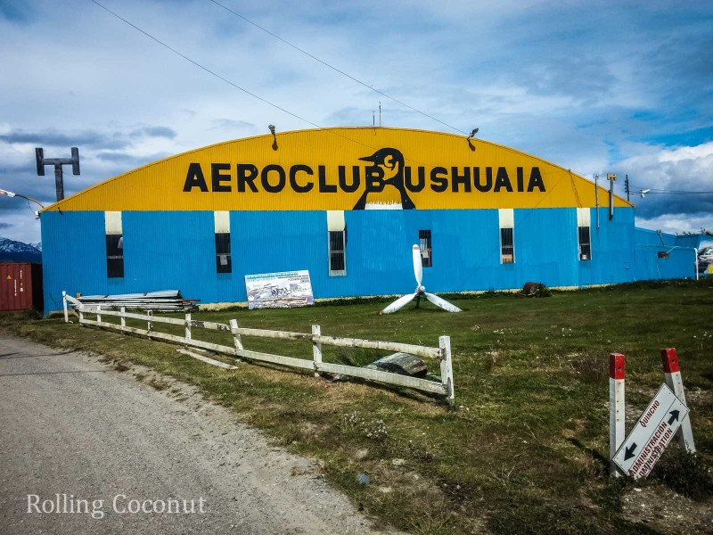 Ushuaia Argentina Aeroclub Flight ooaworld Rolling Coconut Photo Ooaworld