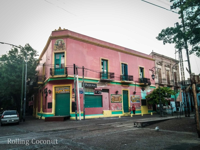 Argentina Buenos Aires La Boca Architecture Rolling Coconut OOAworld Photo Ooaworld