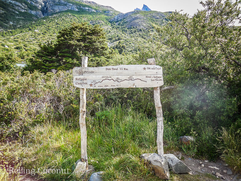 Torres del Paine Chile Refugio Los Cuernos Day Three Trek Altitude Rolling Coconut OOAworld Photo Ooaworld