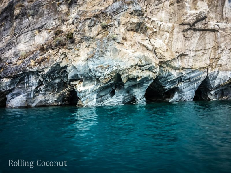 Puerto Rio Tranquilo Chile Marble Caves 6 Rolling Coconut OOAworld Photo Ooaworld