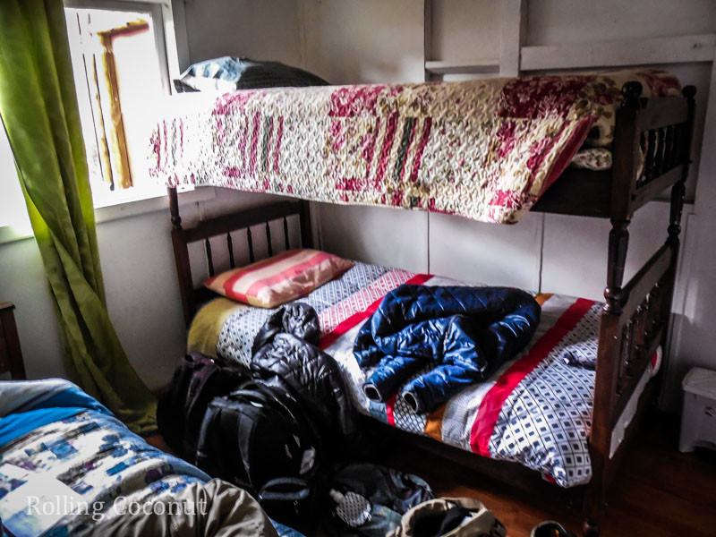 Puerto Rio Tranquilo Chile Silvanna Hostel Room Rolling Coconut OOAworld Photo Ooaworld