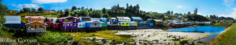 Chile Chiloe Castro Palafitos Panorama Rolling Coconut OOAworld Photo Ooaworld