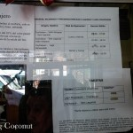 Chile Coyhaique Bus Schedule Part 2 Rolling Coconut OOAworld Photo Ooaworld