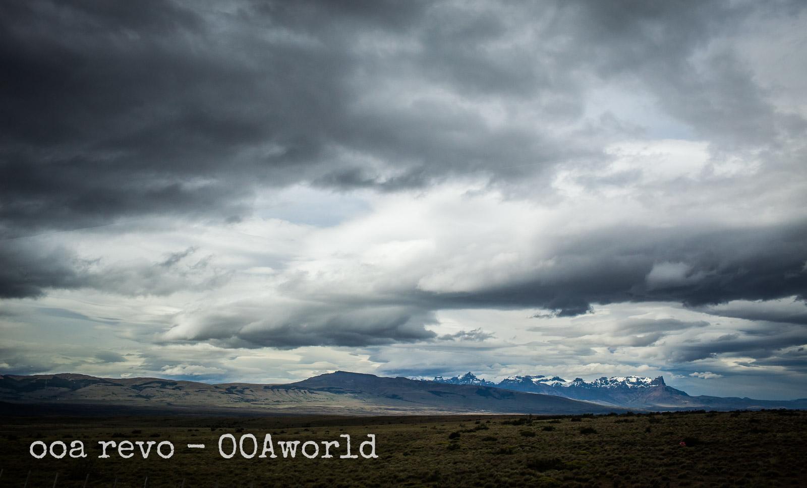 Torres del Paine W Trek Sky Clouds Photo Ooaworld