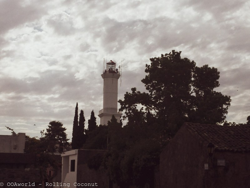 Lighthouse Colonia Del Sacramento Uruguay Photo OOAworld Rolling Coconut