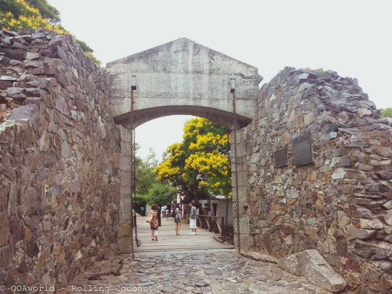 Moat Entrance Barrio Historico Colonia Uruguay Photo OOAworld Rolling Coconut