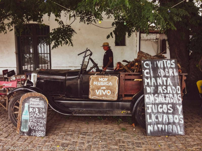 Vintage Car Colonia Del Sacramento Uruguay Photo OOAworld Rolling Coconut Photo Ooaworld