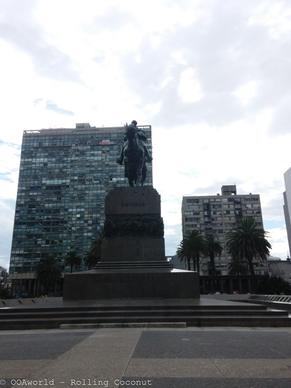 Jose Artigas Statue Montevideo Uruguay Photo OOAworld Rolling Coconut