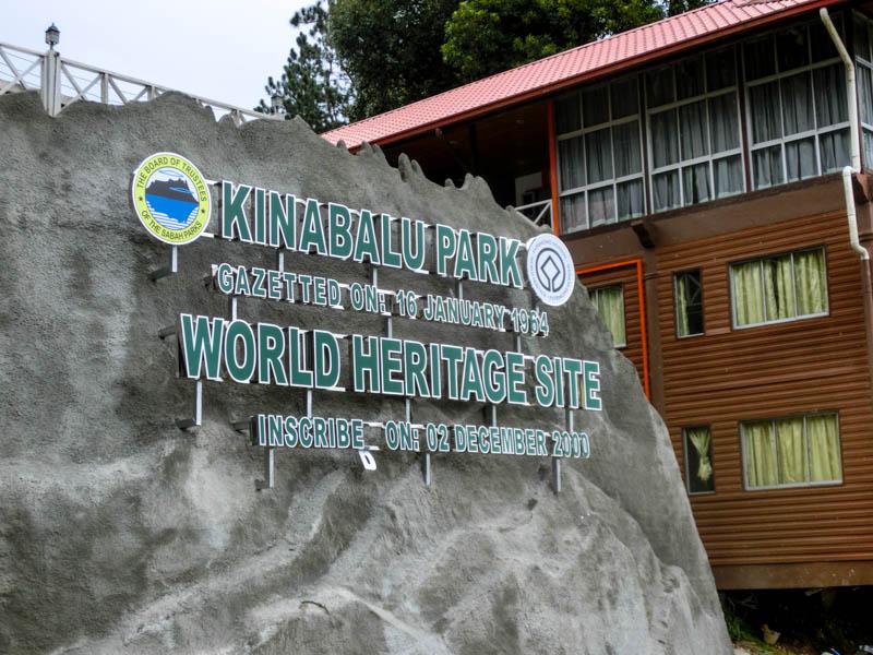 Entrance Mount Kinabalu Borneo