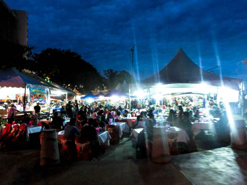 BBQ Kota Kinabalu Borneo photo ooaworld Rolling Coconut