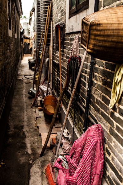diaolou back alley kaiping china photo ooaworld Rolling Coconut