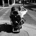 El Paso, sharing a wheelchair