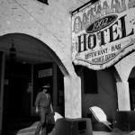 Historic Oatman hotel