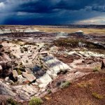 Photos Painted Desert Arizona skies after the storm