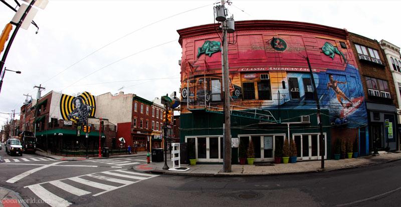 Philadelphia funky street