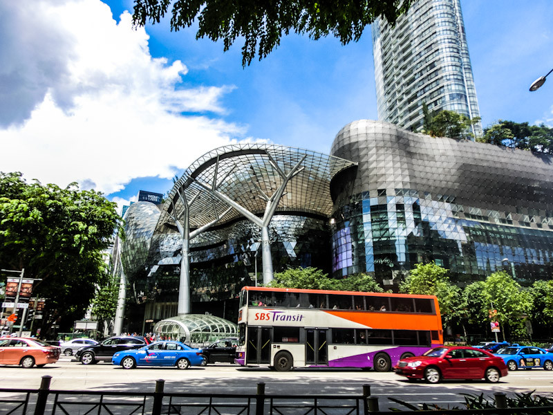orchard st malls singapore photo ooaworld Rolling Coconut