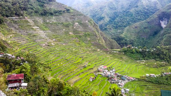 Village Batad Philippines photo ooaworld Rolling Coconut
