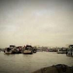 boat markets cai rang vietnam photo ooaworld Rolling Coconut