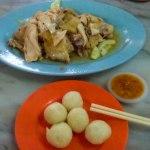 Hainan chicken Melaka Malaysia photo ooaworld Rolling Coconut