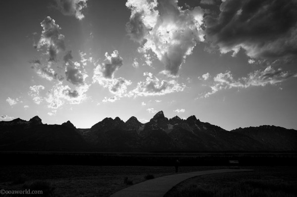 Photos Yellowstone Park Grand Teton Sunrise Man Snaps Nature