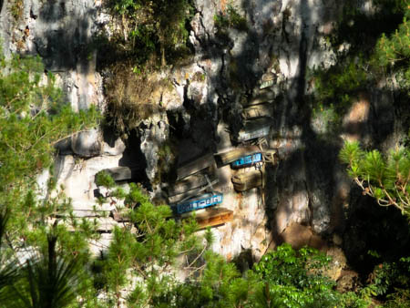 sagada hanging coffins philippines photo ooaworld Rolling Coconut