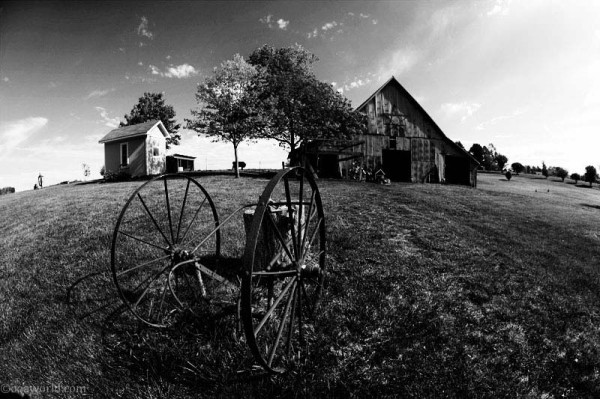 kansas pentagram barn USA road trip photo ooaworld