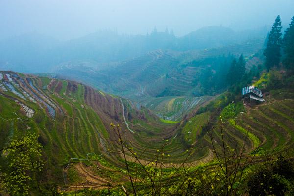 longsheng rice terraces china ooaworld photo