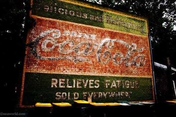 savannah coke advertising USA road trip photo ooaworld