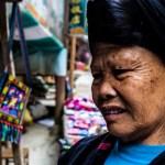 Portrait of a woman in Longsheng