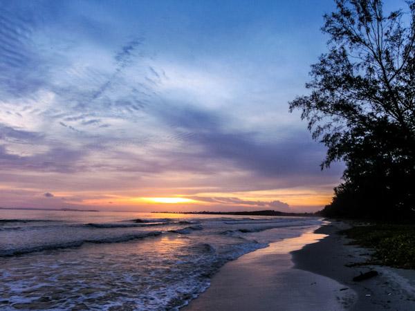 sihanoukville sunset cambodia photo ooaworld Rolling Coconut