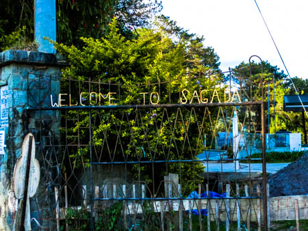 welcome to sagada gate photo ooaworld Rolling Coconut